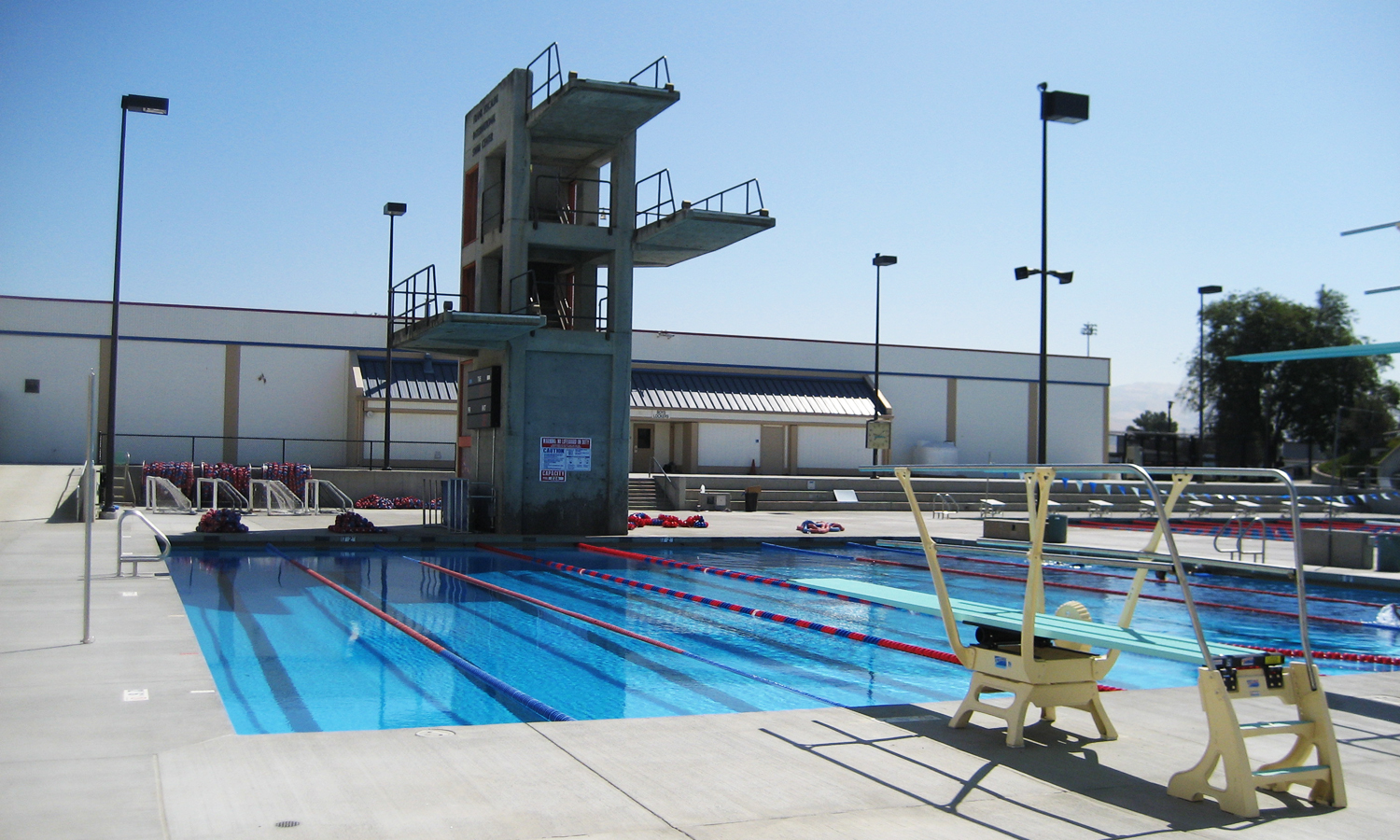 Independence high school pool renovation gonsalves stronck Public swimming pools san jose california